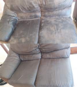 2 seater couch cleaned in port elizabeth true clean