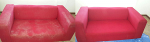 Couch cleaning before and after (1)