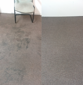 awesome looking before and after carpet cleaning