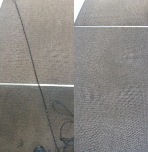 before and after pictures of cleaned office carpets true clean