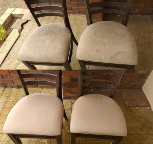 dining room chairs cleaned in port elizabeth