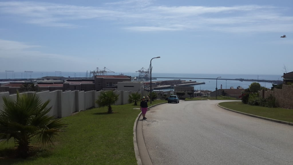 true clean with a great view over port elizabeth from south end