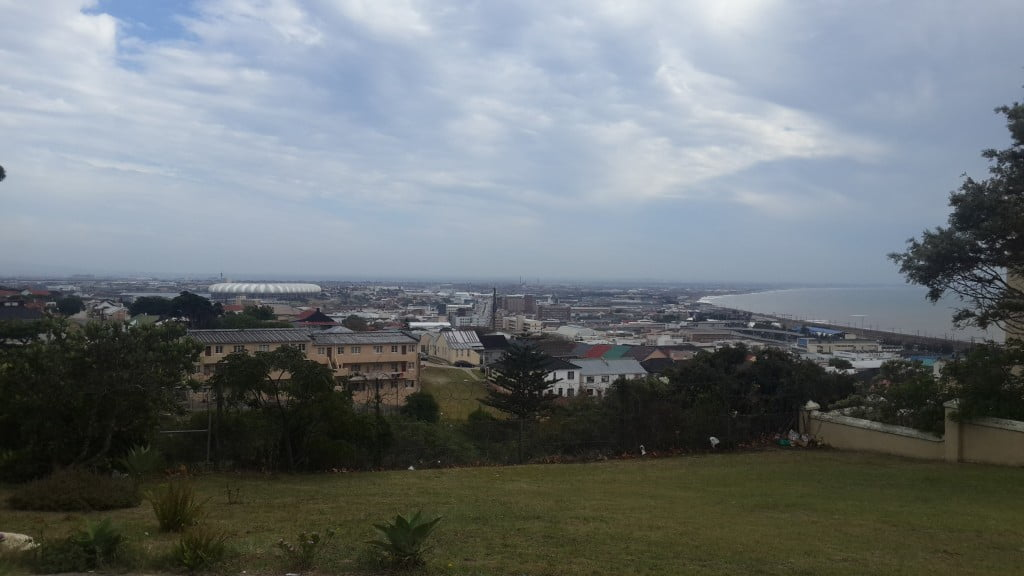 early morning view of port elizabeth before a carpet cleaning job